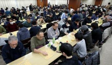 盤上で熱戦を展開した第25回中国将棋団体対抗戦