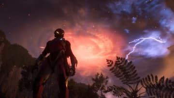 """『Anthem』最初のゲーム内イベントが体験版で発生―空から降り注いだのは""""巨人""""?"""