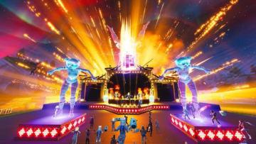 『フォートナイト』ゲーム内で行われた人気DJ「Marshmello」のライブ映像公開!エモートで大盛り上がり