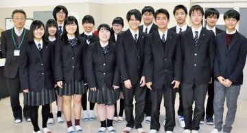 男子6人、女子6人の12人編成で発表会に臨んだ。坂田修一顧問は「人数的に12人は一般の部では不利だが、今回は最高の布陣だった」と評した