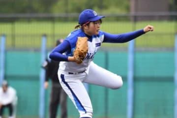 愛知ディオーネ・笹沼菜奈【写真提供:日本女子プロ野球リーグ】