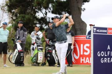 欧州ツアーに参戦する石川遼はメジャーチャンピオンと練習ラウンド(撮影:ALBA)