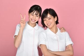 中条あやみ&水川あさみ - 提供:日本テレビ