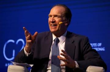 デービッド・マルパス米財務次官=2018年3月18日、ブエノスアイレス(ロイター共同)