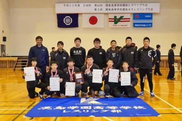 学校対抗戦で準優勝の鹿島学園(茨城)。全国大会は優勝が目標