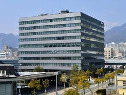 神戸製鋼所神戸本社=神戸市中央区脇浜海岸通2