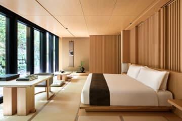 「アマン京都」の客室(京都市北区)