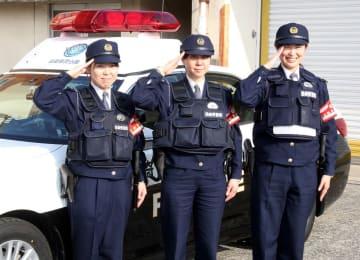 8年ぶりに自ら隊に配属された女性警察官=長崎市田中町、自動車警ら隊本隊