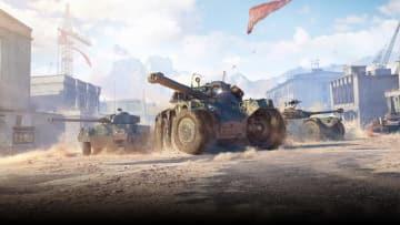 PC版『World of Tanks』に新タイプ車輛「装輪車輌」が登場―高い隠蔽率を誇る真のアクティブスカウト