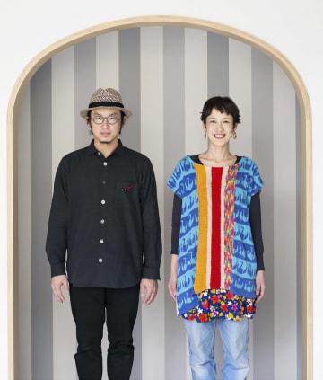 「やなせたかし文化賞」で大賞を受賞したユニット「tupera tupera」(photo ryumon kagioka)