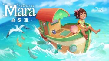 夏の冒険RPG『Summer in Mara』Kickstarter開始! トロピカルな群島でスローライフ