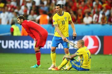 EURO2016ではチームメイトだった2人 photo/Getty Images
