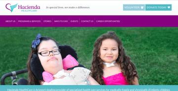 事件が起こった、ハシエンダ・ヘルスケアのウェブサイト。