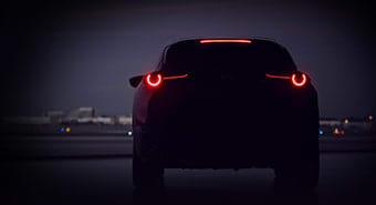 「新型SUV」(画像: マツダの発表資料より)