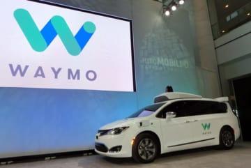 自動運転事業でGoogleから分社した「Waymo」(ウェイモ) 自動運転テスト車両