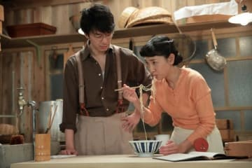 NHK連続テレビ小説「まんぷく」第108回の一場面(C)NHK