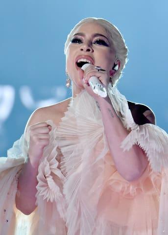 「第61回グラミー賞授賞式」に出演するレディー・ガガさん (C)Getty Images