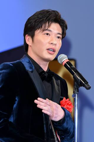 「2019 エランドール賞」の授賞式に出席した田中圭さん