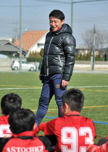 今春からAS栃木のコーチを務める元Jリーガーの国吉