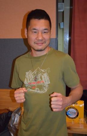 ボクシングで4年ぶりの日本王座復帰に挑む堀川謙一。現役最多の55戦目を迎える(京都府長岡京市)