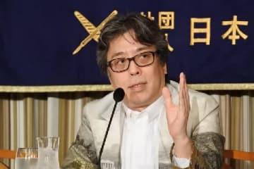 小林よしのりさん(2015年8月10日撮影)