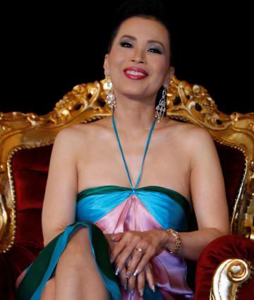 タイのウボンラット王女=2008年5月、フランス・カンヌ(ロイター=共同)