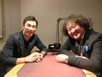 佐藤琢磨選手と葉加瀬太郎