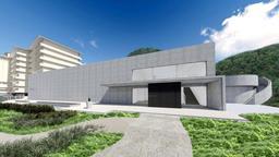 城崎マリンワールドに新たにつくられる「日和山海岸ミュージアム」の透視図(城崎マリンワールド提供)