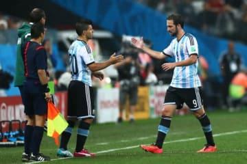 アルゼンチン代表のライバルだった2人 photo/Getty Images