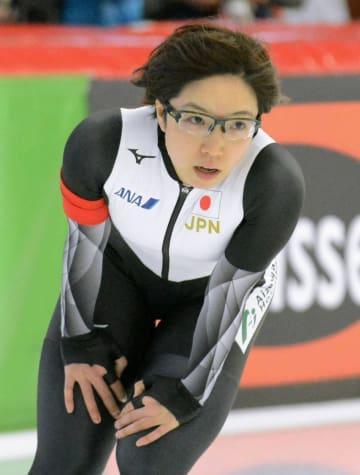 女子1000メートルで3位だった小平奈緒=インツェル(共同)