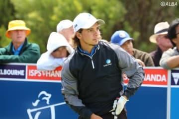世界アマチュアランク5位、オーストラリア出身の22歳(撮影:ALBA)