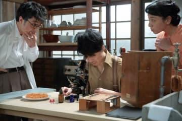 NHK連続テレビ小説「まんぷく」第110回の一場面(C)NHK