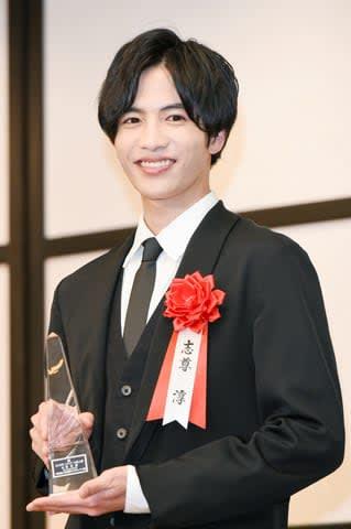 「2019年 エランドール賞」の授賞式に出席した志尊淳さん