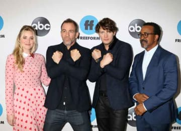 'Schooled' Cast Members Attend Disney ABC Television TCA Winter 2019 Press Tour