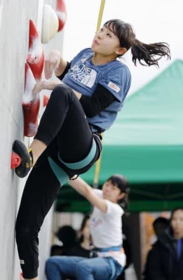 女子で準優勝に輝いた伊藤ふたば(TEAM au、盛岡中央高)=10日、東京都昭島市・モリパークアウトドアヴィレッジ