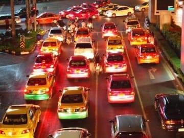 渋滞も世界一ですしねえ...