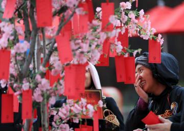 USHで中国の春節ムードを味わう