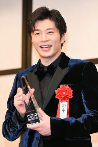 「2019年 エランドール賞」の授賞式に出席した田中圭さん