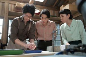 NHK連続テレビ小説「まんぷく」第111回の一場面(C)NHK