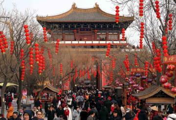 河南省、春節連休中の観光収入が180億元以上に