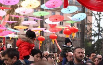 ローマで中国の春節ムードを味わう