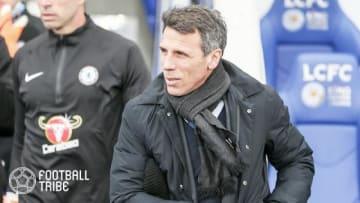 チェルシーのアシスタントコーチを務めるジャンフランコ・ゾラ 写真提供:GettyImages