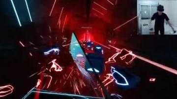 VRリズムゲー『Beat Saber』上級者の動きが速すぎてSteamVR更新―コントローラー認識速度の限界を拡大