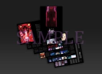 「Fate/stay night[Heaven's Feel]」の第2章「II. lost butterfly」の6週目来場者特典の黒パンフレット(C)TYPE-MOON・ufotable・FSNPC