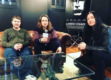 VIDEO EXCLUSIVE: Rory Culkin, Emory Cohen & Jonas Akerlund On 'Lords Of Chaos,' Metal Music