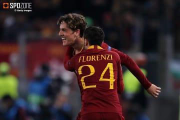 19歳ザニオーロのゴールでローマが勝利