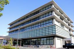 神戸地方裁判所尼崎支部の外観=尼崎市水堂町3