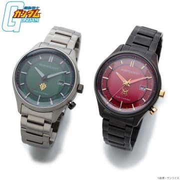 「ガンダム」シリーズと「INDEPENDENT」がコラボした腕時計「機動戦士ガンダム × INDEPENDENT ジオン軍ウォッチ 40周年記念モデル」(C)創通・サンライズ