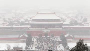 14日も降雪予報 北京で「ホワイトバレンタイン」の期待高まる