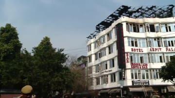 インド·ニューデリーでホテル火災 17人死亡